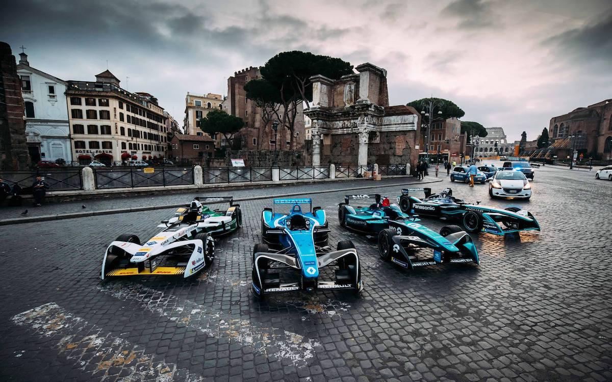 Rennwagen von Dallara aus der Formel E (Foto: Dallara)