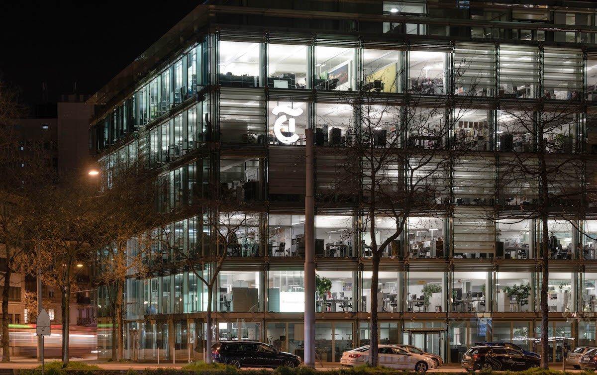 Tamedia-Zentrale in Zürich Werd (Foto: Raisa Durand)