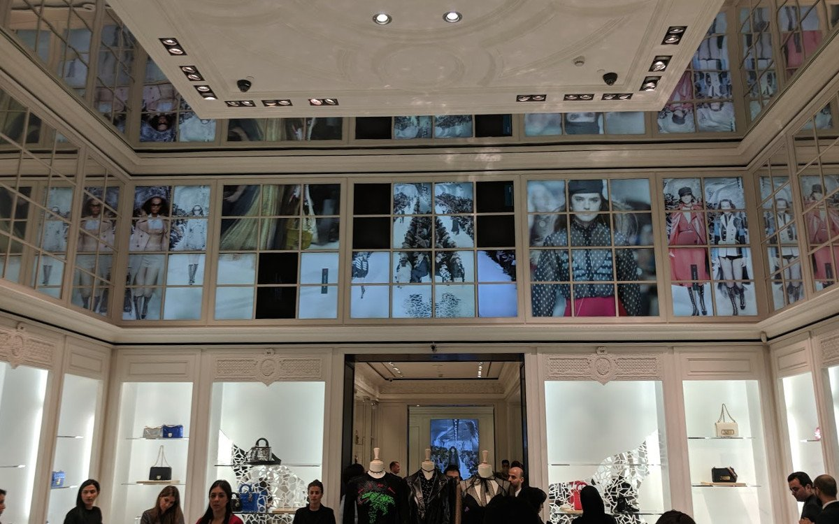 Dior The Dubai Mall (Foto: invidis)