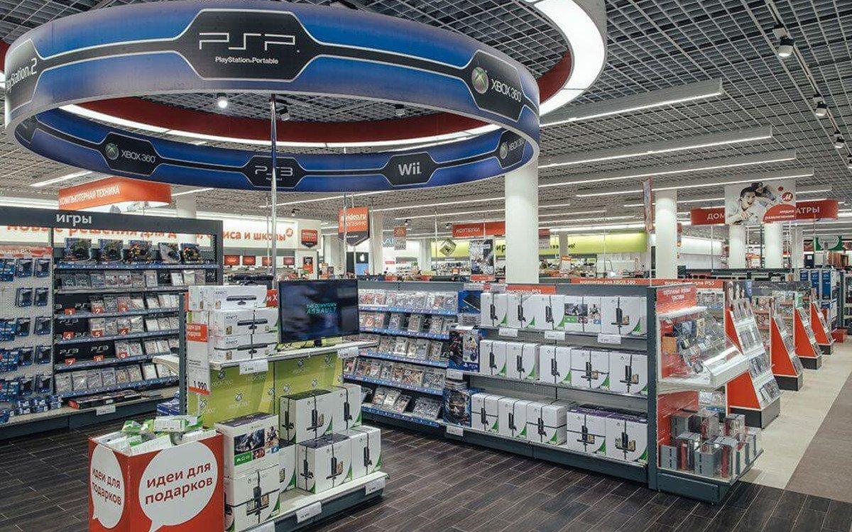 m.video Store - fühlt sich an wie Medie Markt, jetzt auch mit Media Markt drin (foto. m.video)