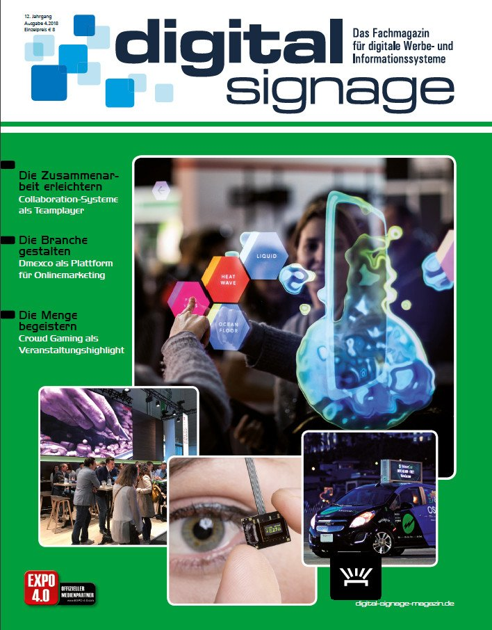 Neue Ausagabe des Digital Signage Magazins erhältlich (Foto: DS Magazin)