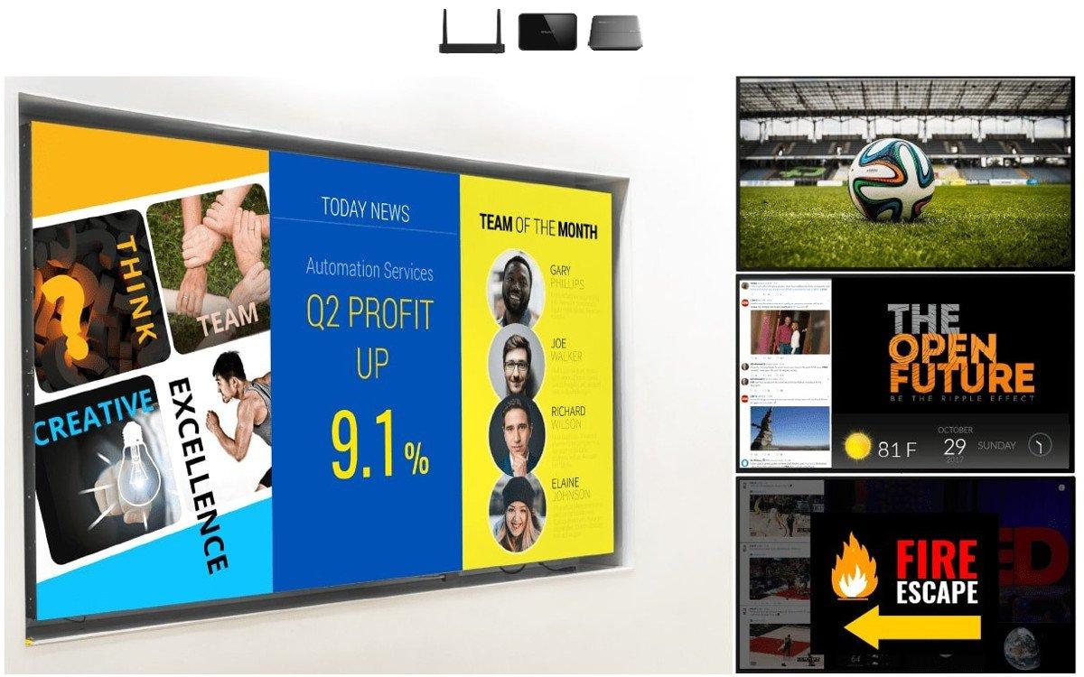NovoDS Digital Signage CMS (Foto: NovoDS)