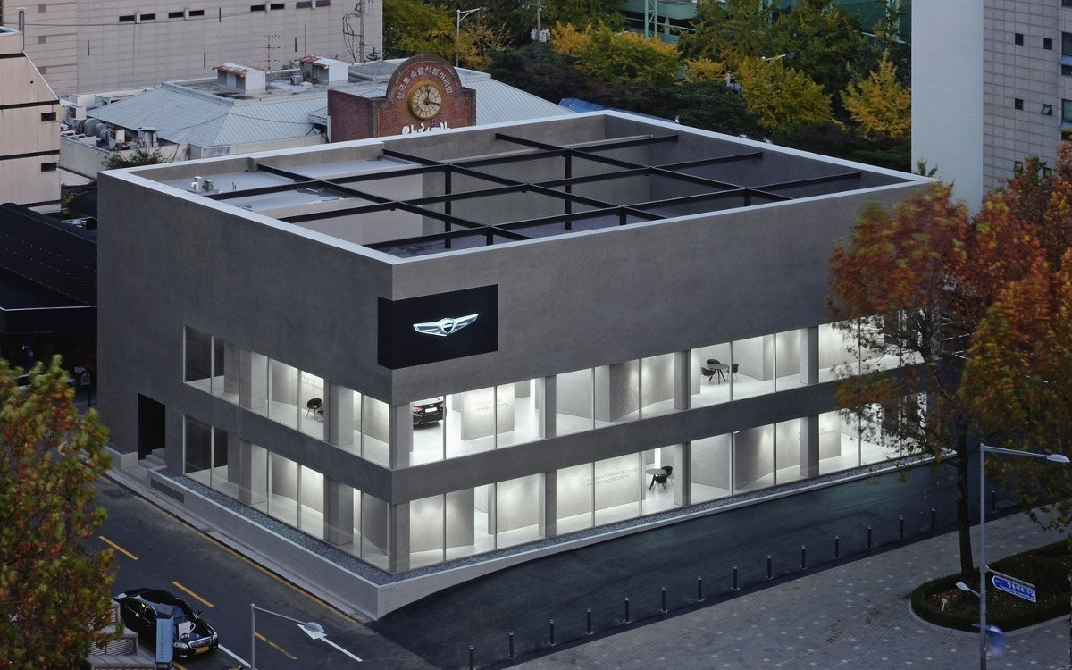 Erster Genesis Showroom in Seoul (Foto: Genesis)