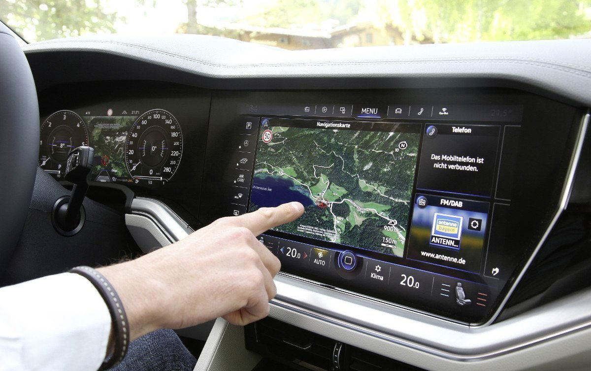 Digital Cockpit der neusten Generation bei Volkswagen (Foto: Volkswagen)