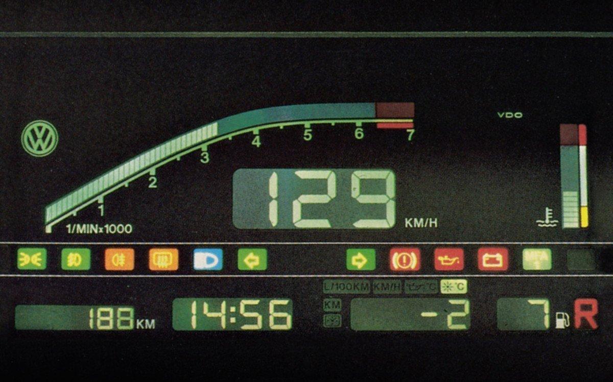 DigiFiz - erste Displayversuche bei Volkswagen (Foto: Volkswagen)