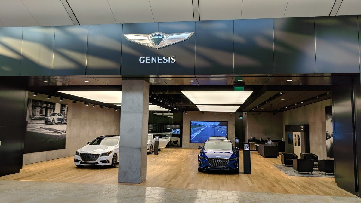 Genesis Showroom in Toronto (Foto: invidis)