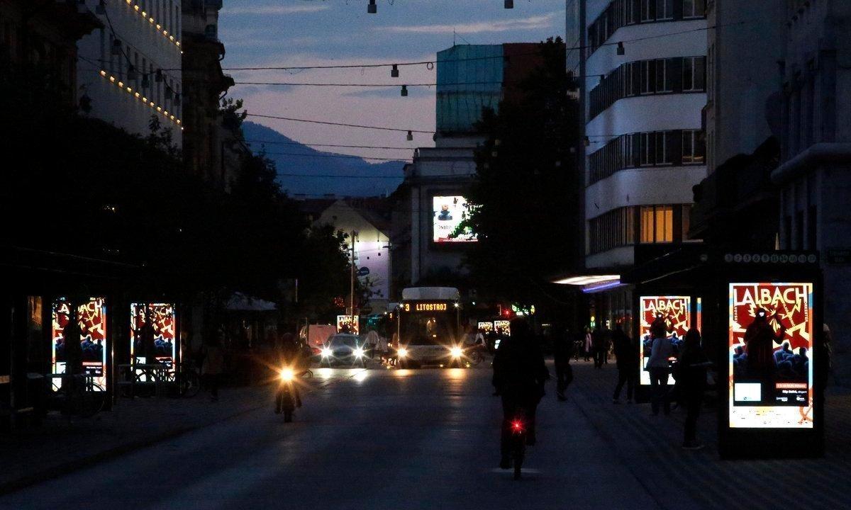 Europlakat DooH-Netzwerk in Ljubljana (Foto: Europlakat)