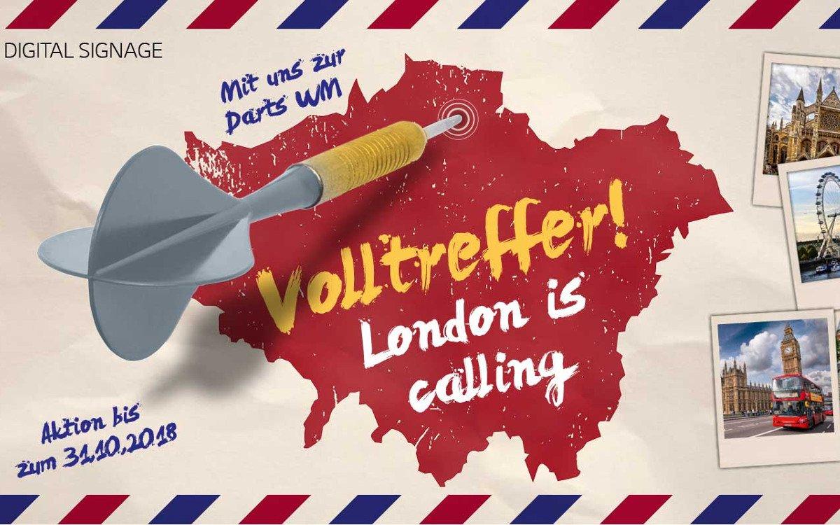 London Calling - LG und ITZ laden zur Darts WM in die britische Hauptstadt (Foto: LG)