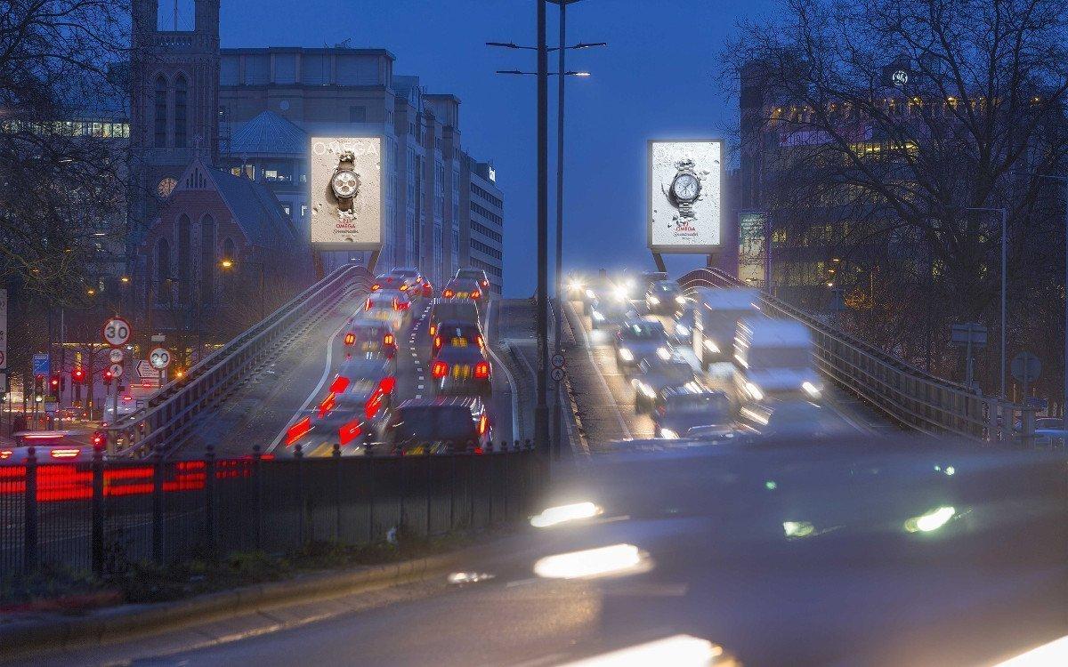 DooH in Hammersmith (Foto: Outdoor Plus)