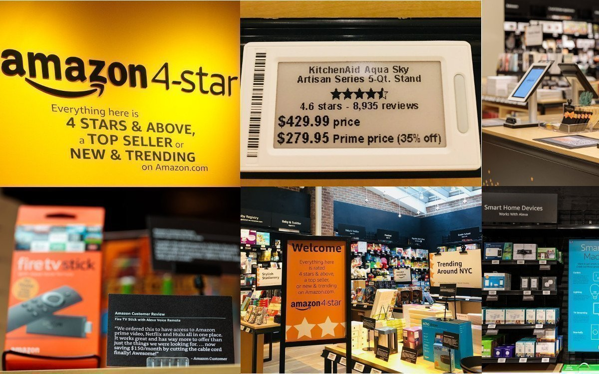 Amazon 4-star in NYC (Fotos: Jordan Stead/Amazon)