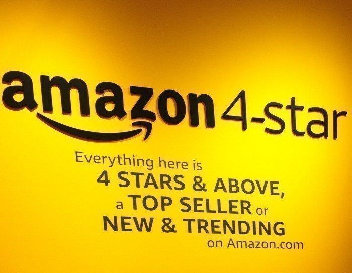 Amazon 4-star in NYC (Foto: Jordan Stead/Amazon)