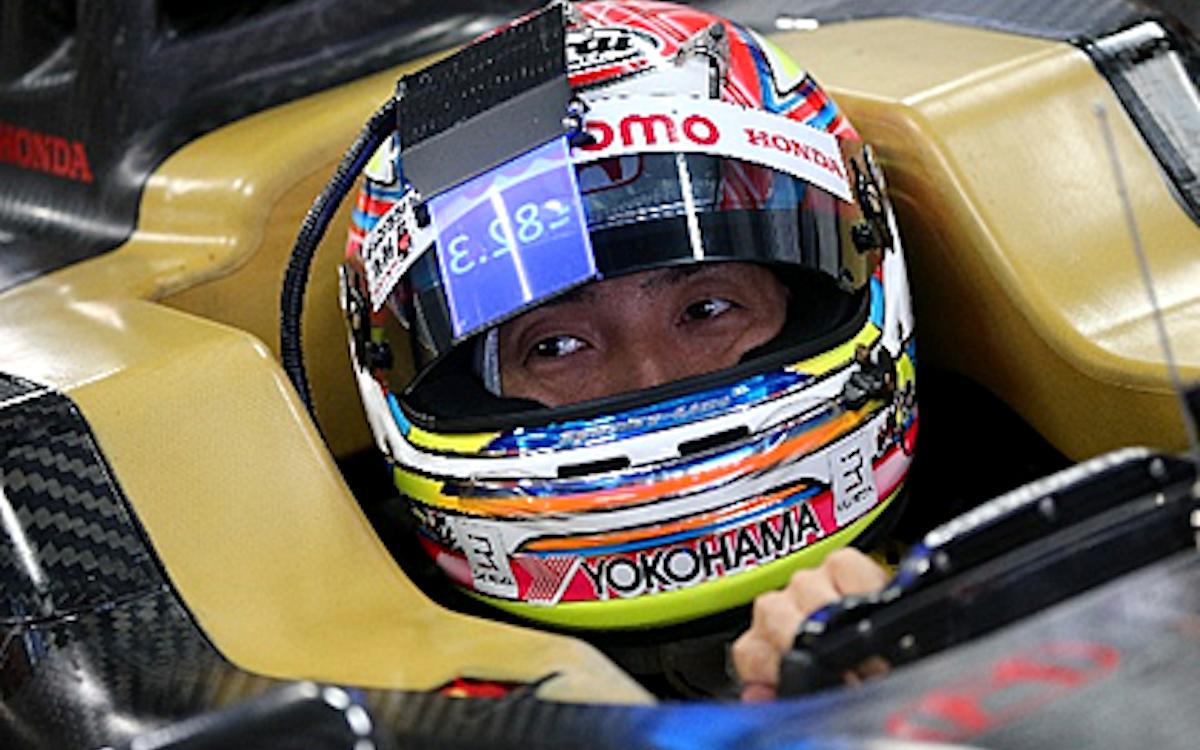 JDI-Studie für einen transparenten Screen an einem Racing-Helm (Foto: JDI)