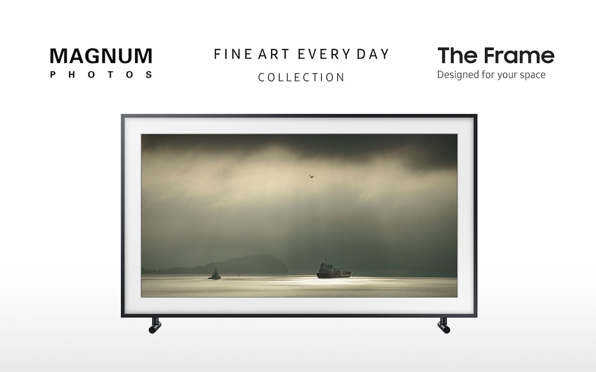 The Frame TVs erhalten exklusiven Content von Magnum Photos (Foto: Samsung)
