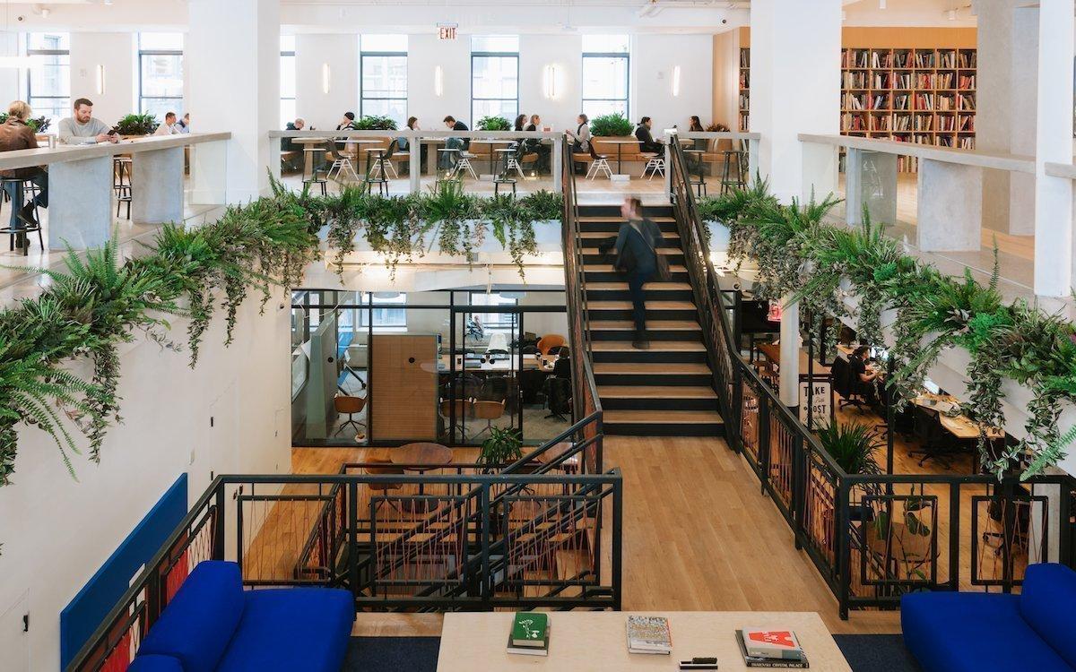 Zentrale von WeWork in New York (Foto: WeWork)