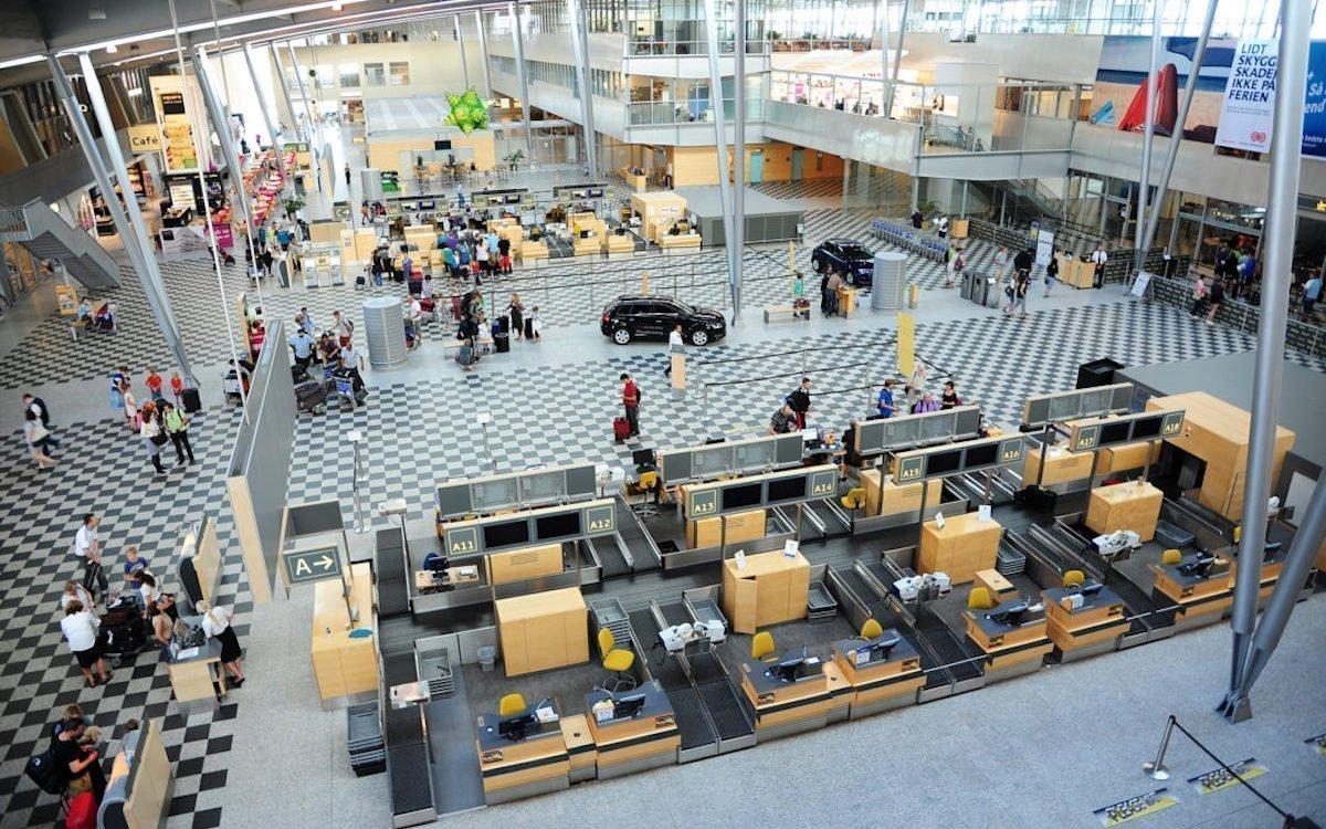 Der Check-In-Bereich von BLL (Foto: Billund Airport)