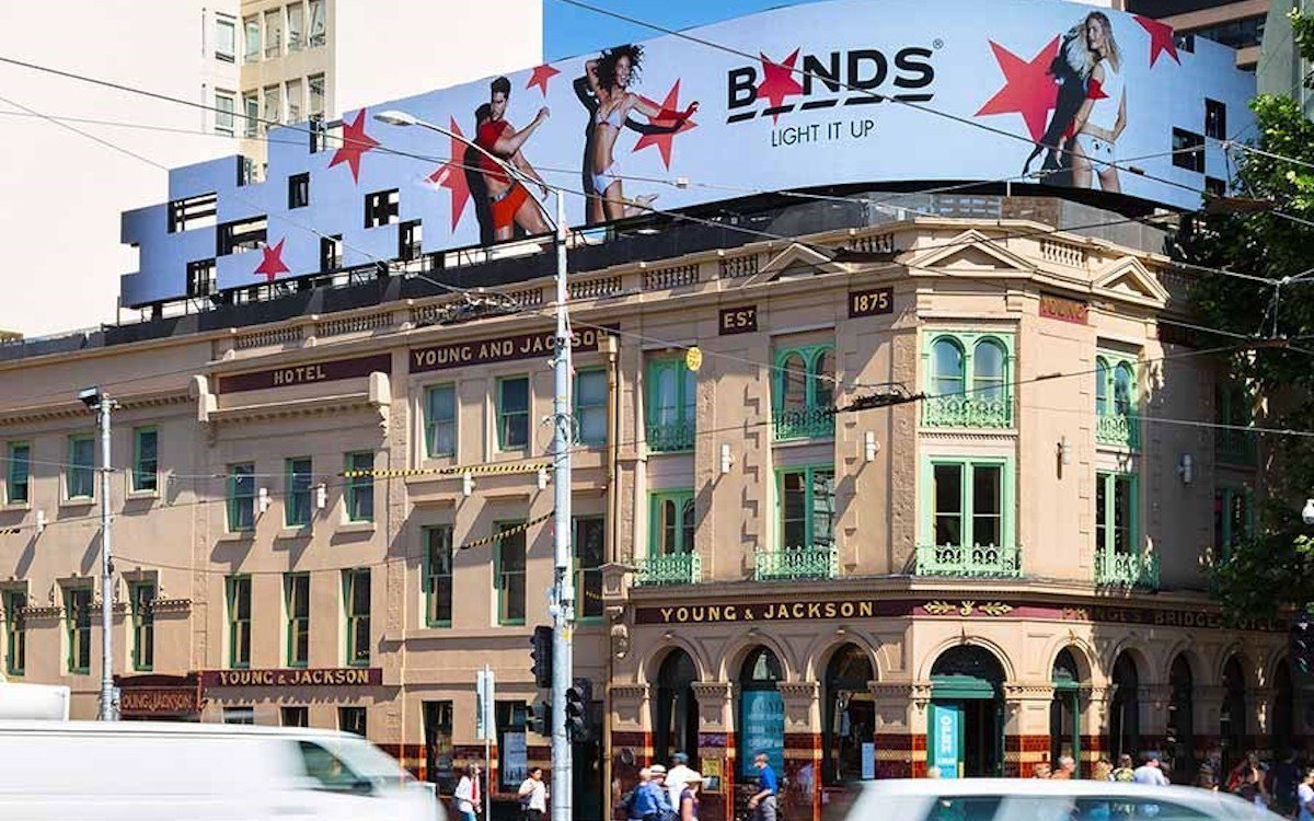 Digital Billboard von APN Outdoor in Australien (Foto: APN Outdoor)