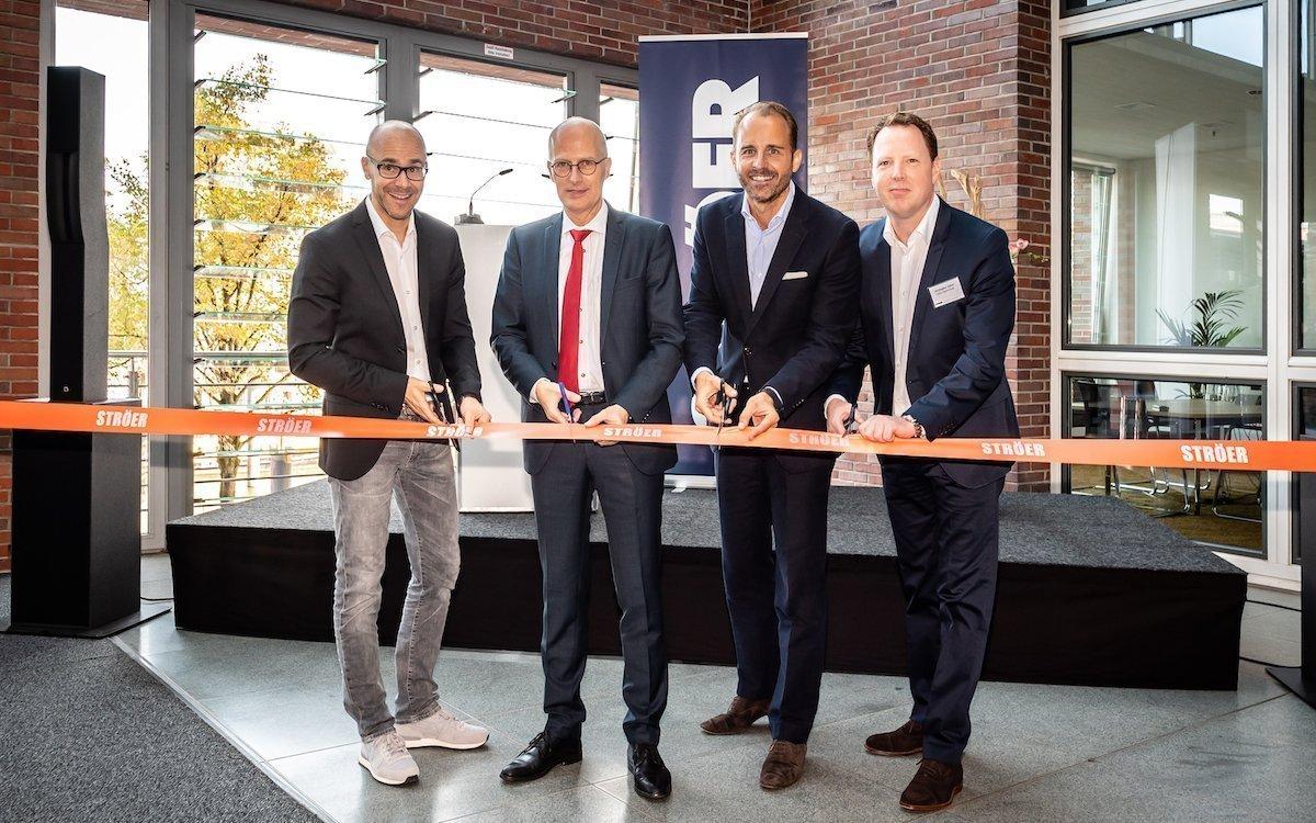 Eröffnung des neuen Ströer-Standorts in Hamburg (Foto: Ströer)