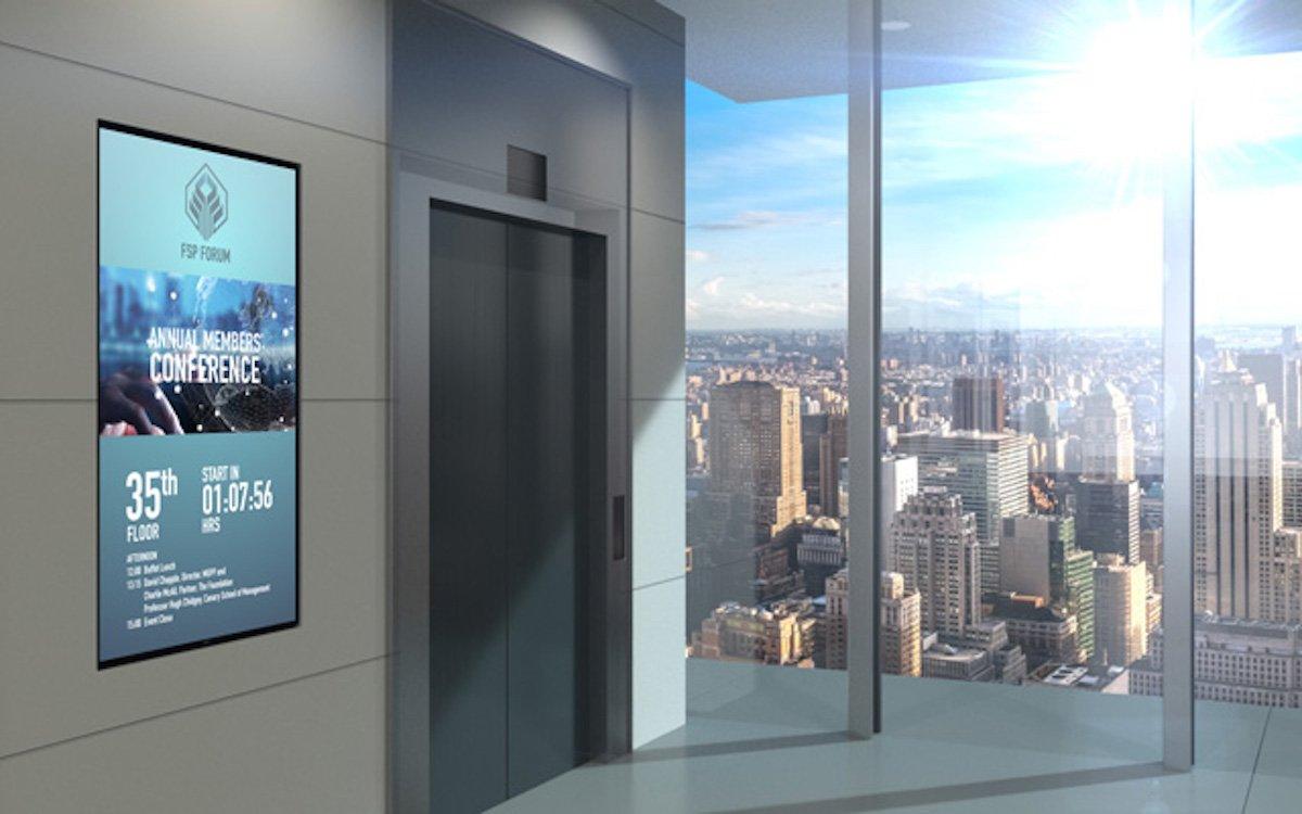 Large Format Screen aus der C Serie von NEC (Foto: NEC)