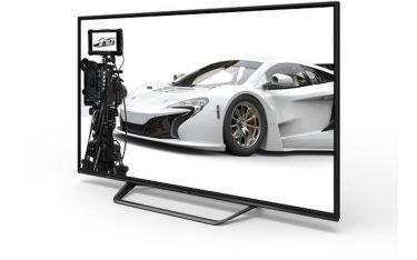 Mit dem LV-70X500E steht seit diesem Jahr ein Professional Screen mit 16-facher Full HD-Auflösung zur Verfügung (Foto: Sharp)