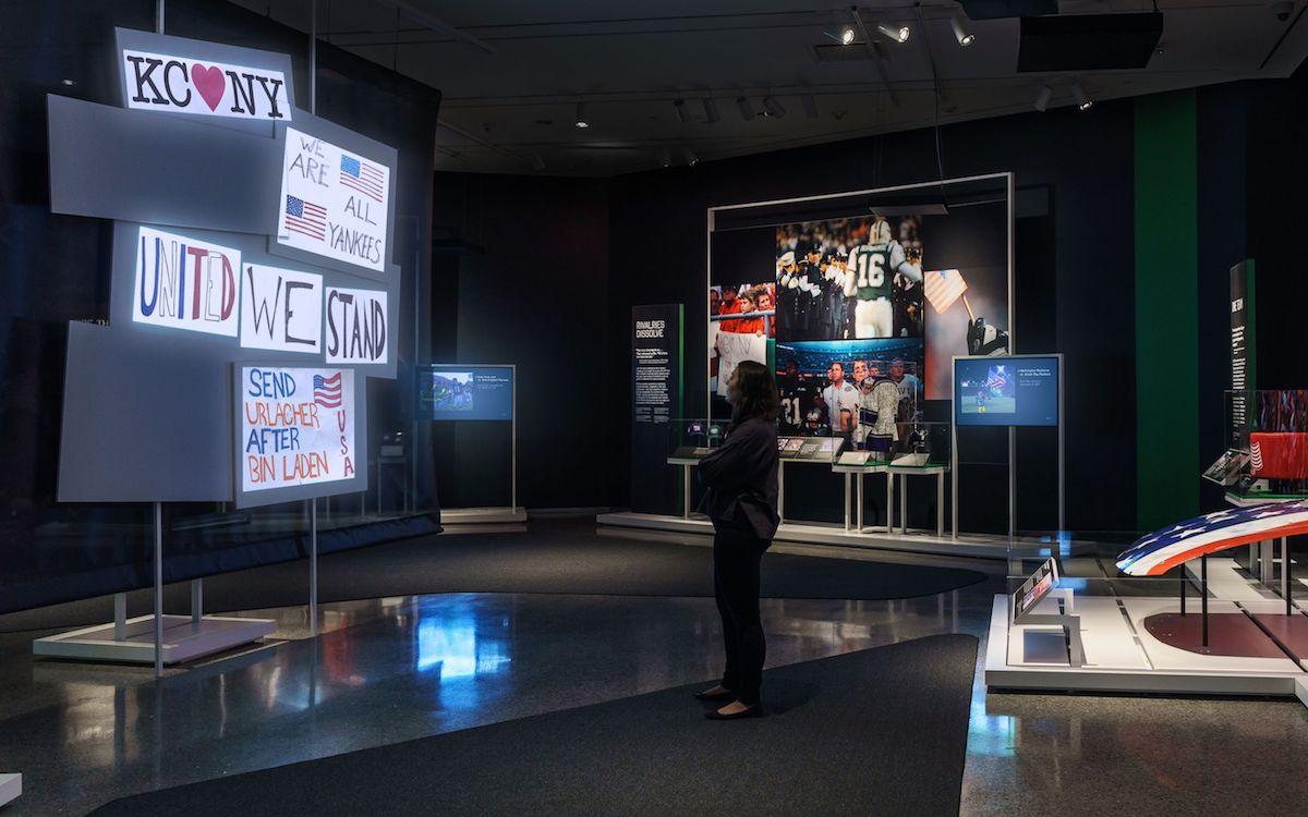 Mit Projection Mapping arbeitet die aktuelle Sonderausstellung in New York (Foto: BrightSign)