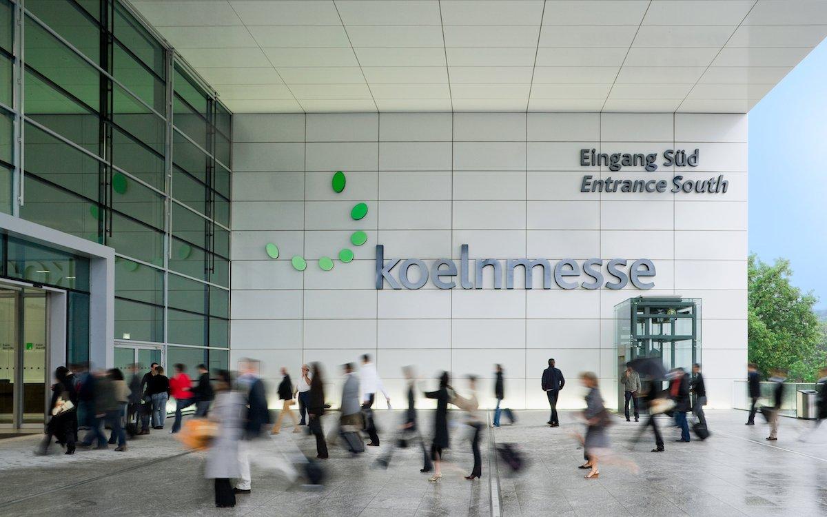 Südeingang der Koelnmesse (Foto: Koelnmesse)