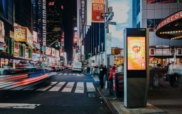 Link NYC Smart City Stele am Times Square (Foto: LinkNYC)