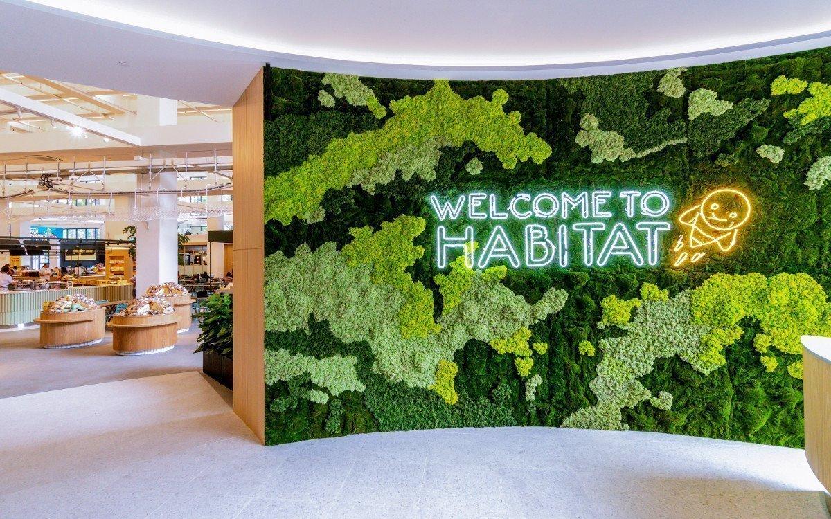 Eingang habitat by honestbee (Foto: honestbee)