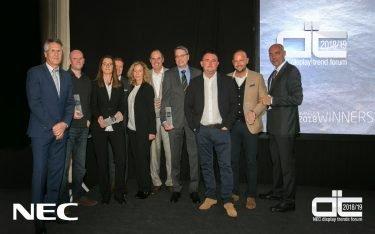 NEC Display Solutuions Partner Awards 2018 (Foto: NEC)