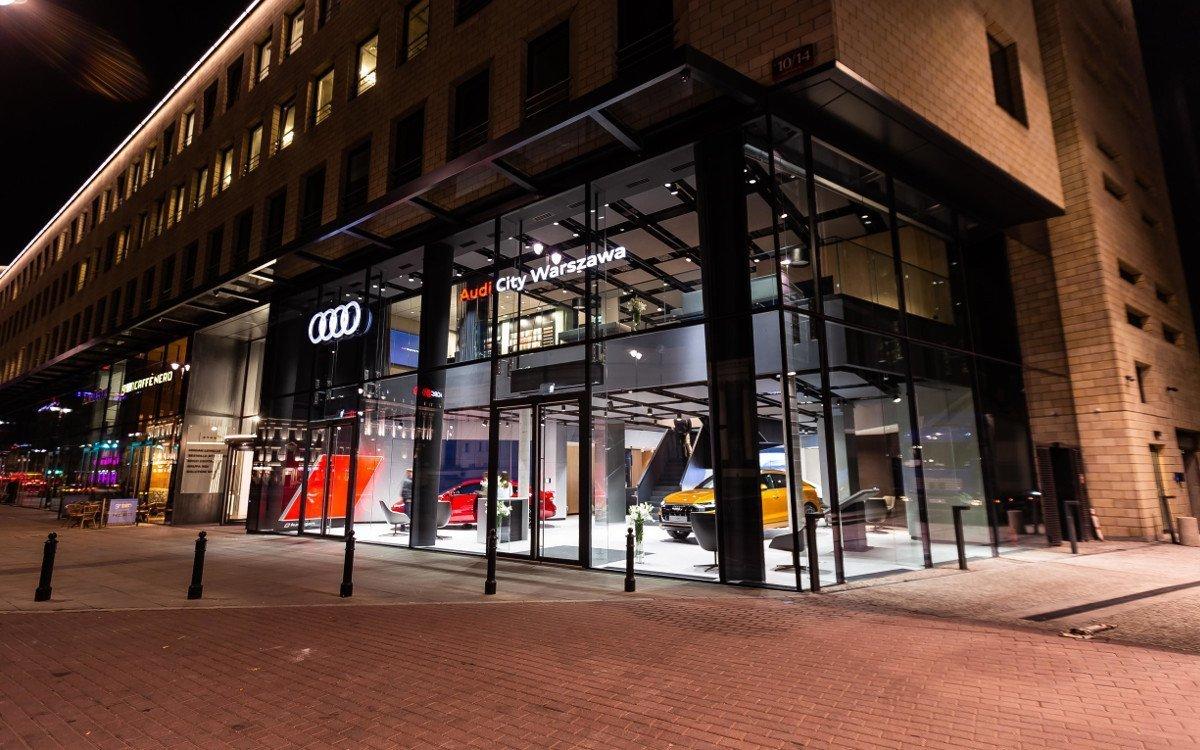 Audi City Warschau - City Store neuster Generation (Foto: Audi AG)