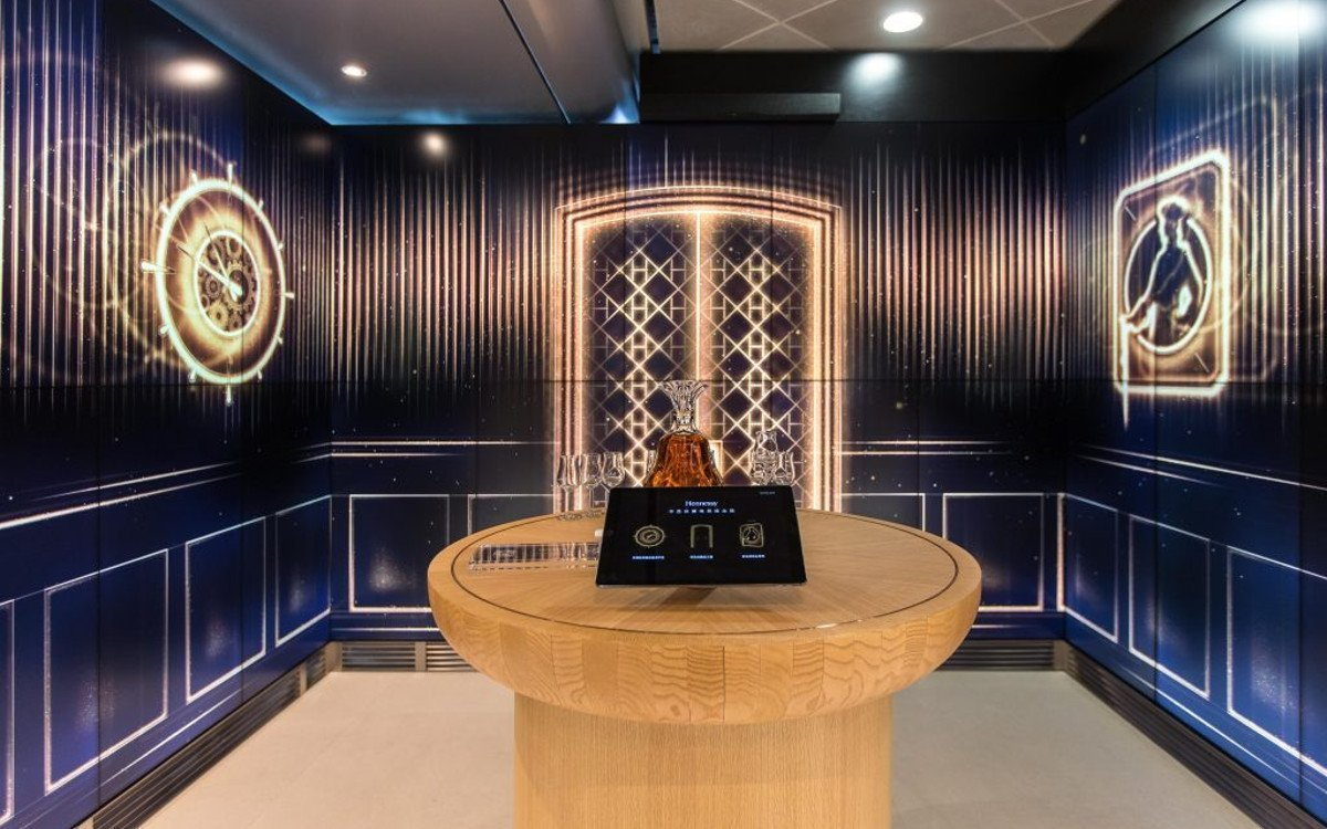 House of Hennessy Lounge am Flughafen Hongkong (Foto: Lagadere Travel Retail)