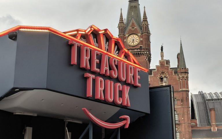 Amazon Treasure Truck in London (Foto: invidis)