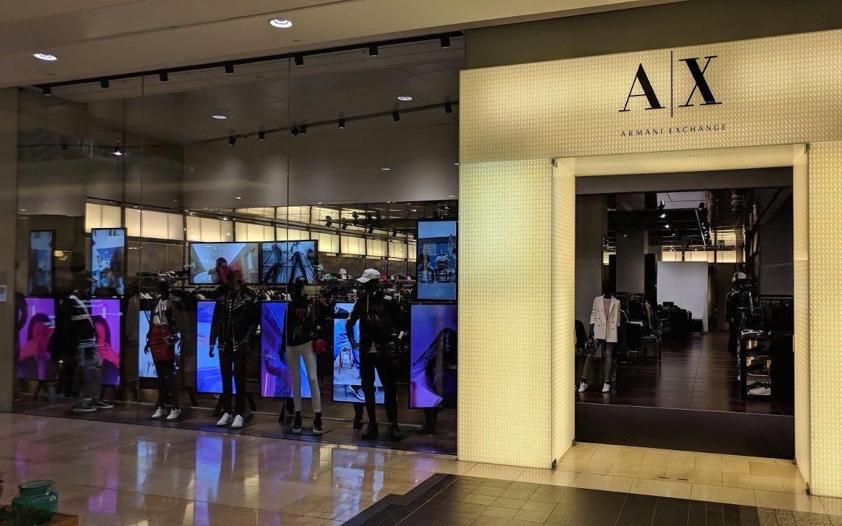 Armani Exchange in London (Foto: invidis)