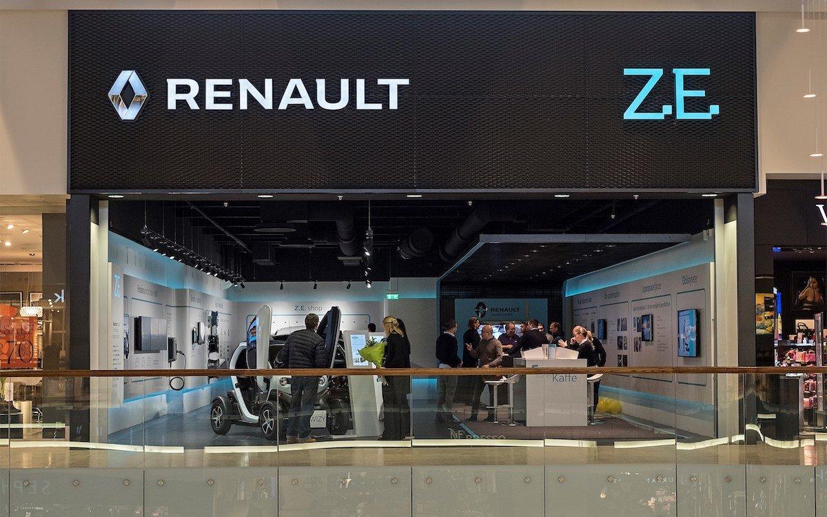 Auch der Concept Store für Renault Electric Vehicle nutzt die neu implementierte DS Lösung (Foto: Renault)