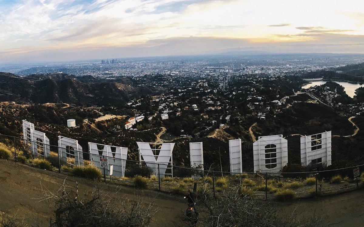 Blick auf Hollywood und Umgebung, Symbolbild (Foto: Pixabay / Free-Photos)