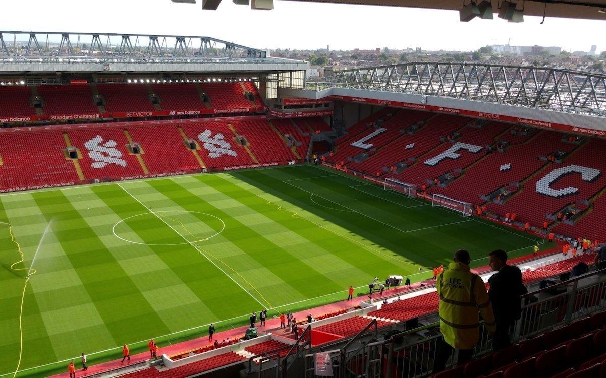 Das Stadion Anfield erhielt neue DS- und IPTV-Lösungen (Foto: Signagelive)