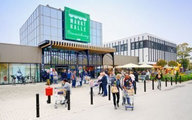 Die Markthalle Braunschweig ist der zweite real-Flagship –weitere folgen, etwa im Raum Berlin (Foto: real,-)