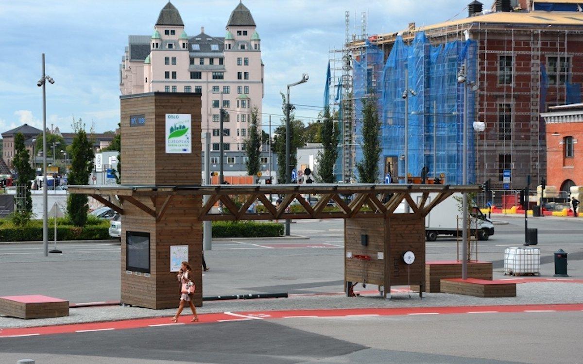 Die smarte Fahrradstation ist zur Förderung des Radverkehrs gedacht (Foto: Infinitus)