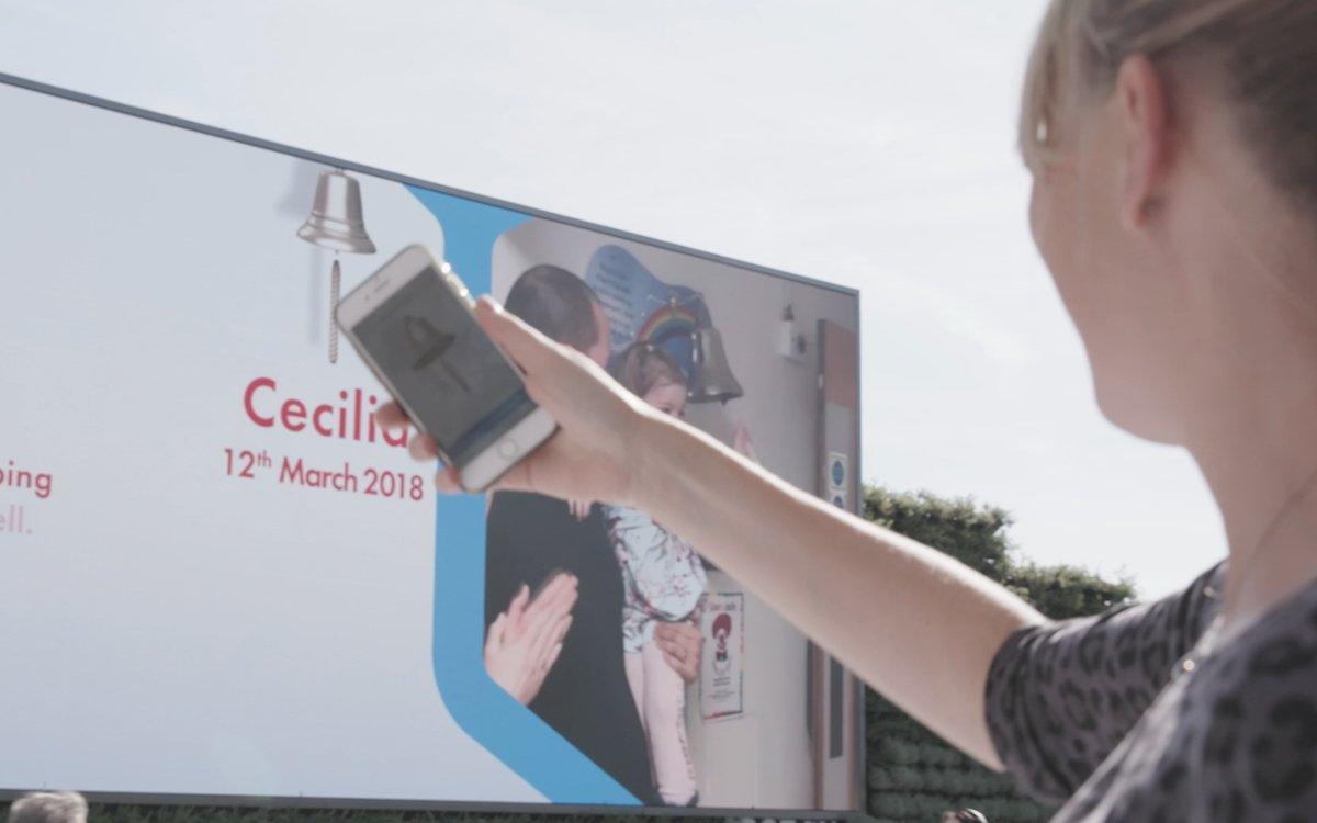 Durch das Schütteln des Smartphones wird auf dem Screen eine Aktion ausgelöst (Foto: Grand Visual)