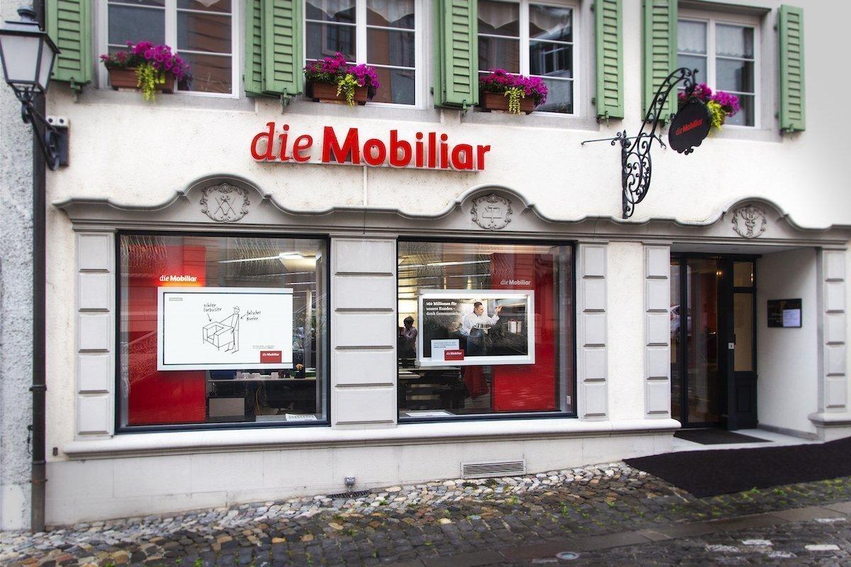 In der Schweiz und im Fuerstentum Liechtenstein wurden 100 Agenturen ausgestattet (Foto: screenFOODnet)