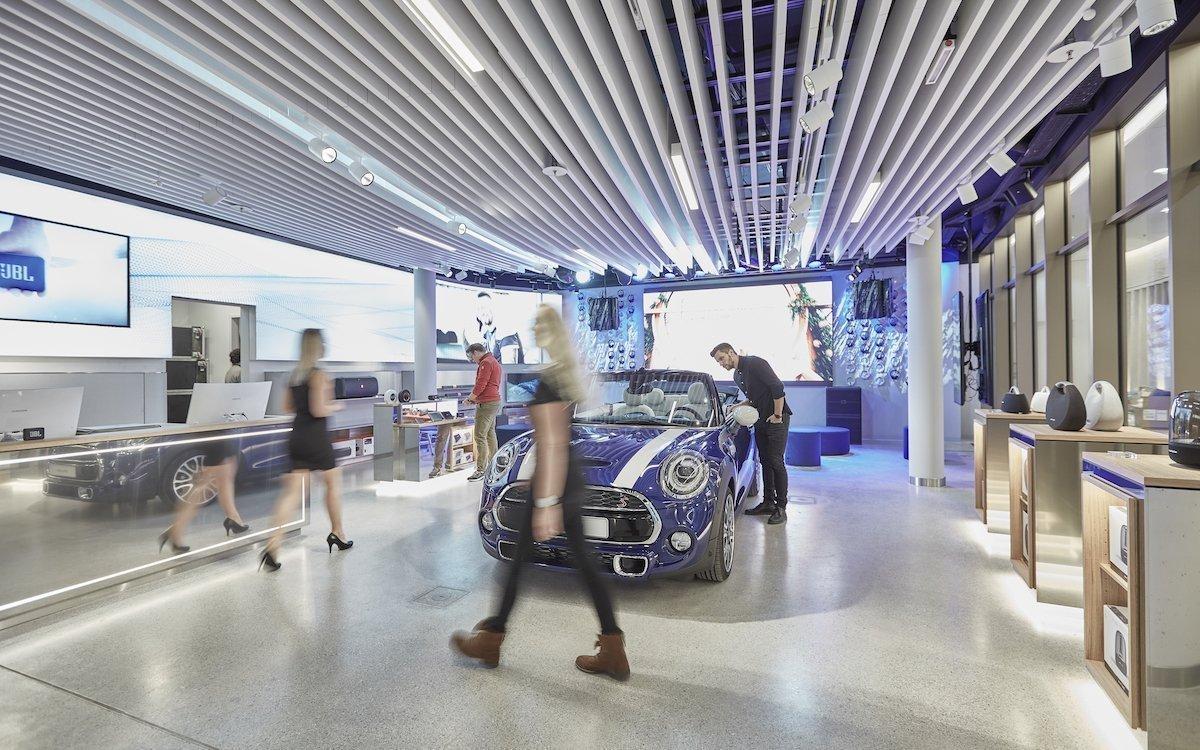 In Münchens Innenstadt hat Harmann seinen ersten Experience Store in Europa eröffnet (Foto: Harmann)
