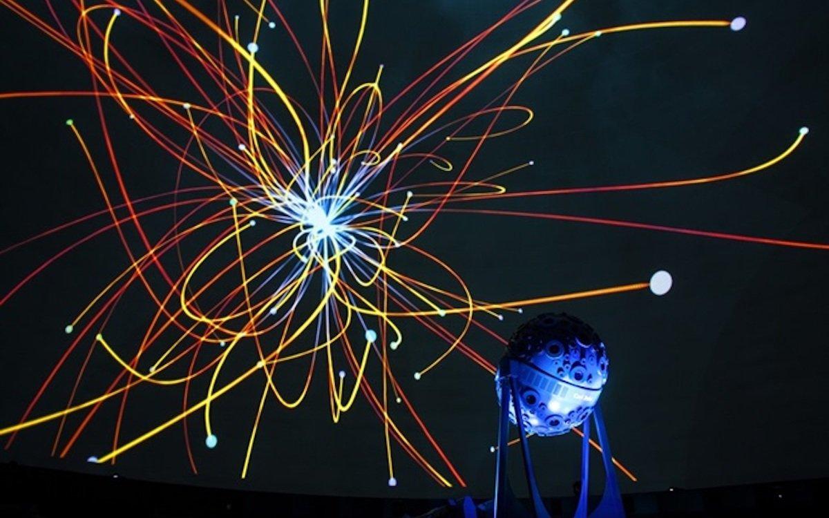 Mit neuen Laser-Phosphor-Projektoren wurde das älteste Planetarium der Welt nun rundum erneuert (Foto: Barco)