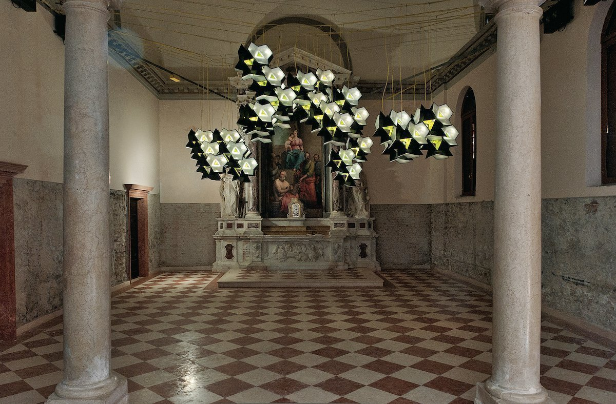 Olafur Eliasson: Starbrick, 2010 auf der Architekturbiennale Venedig (Foto: Zumtobel)