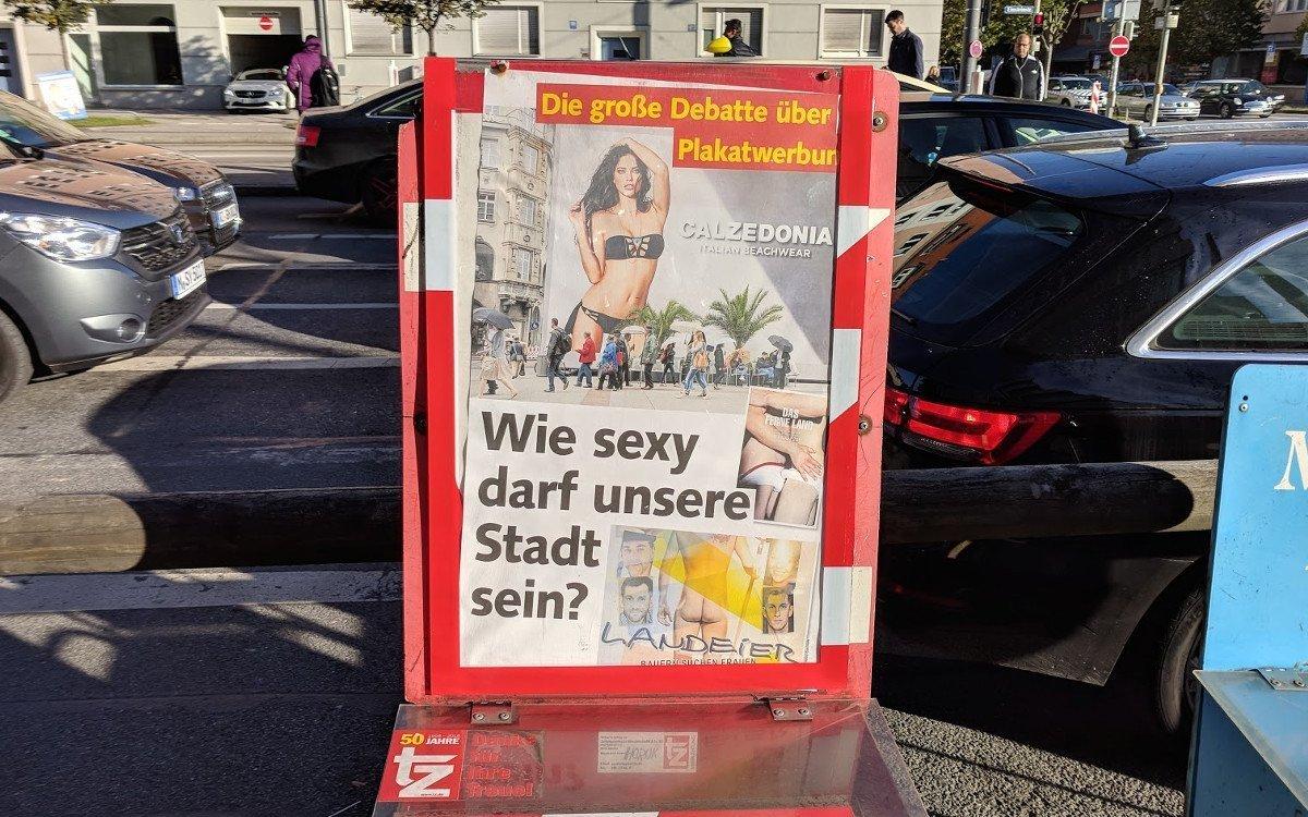 So berichtete Münchens Boulevard über die Diskussion (Foto: invidis)