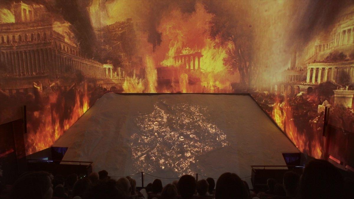 Wenn hier mal nicht Kaiser Nero im Spiel war (Foto: Panasonic)