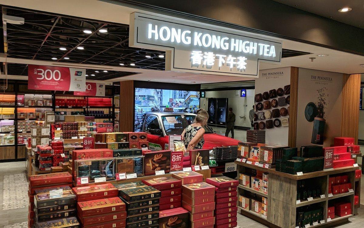 Digital Signage meets Taxi am Flughafen Hongkong (Foto: invidis)