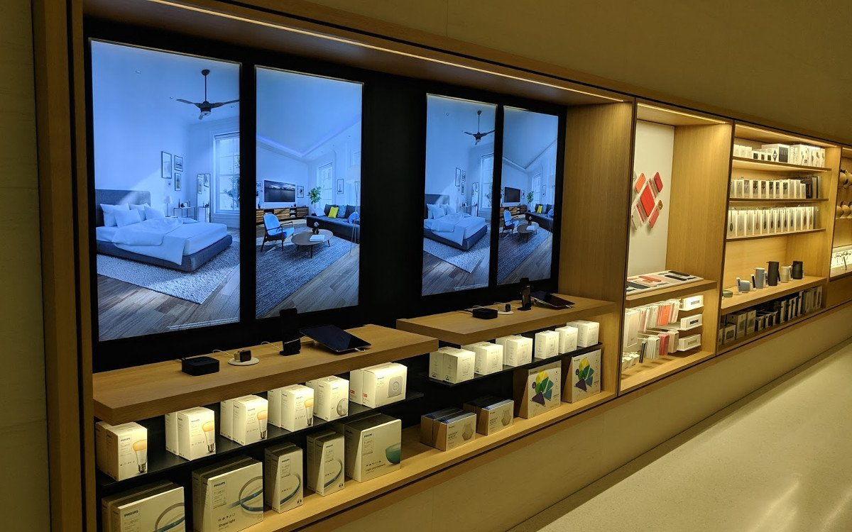 Digital Signage bei Apple für Smart Home Lösungen - Apple Cotai Central (Foto: invidis)
