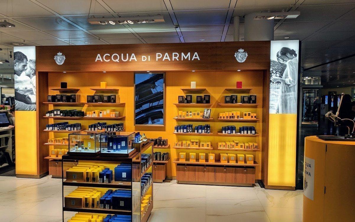 Acqua di Parma mit farblich integriertem Screen (Foto: invidis)