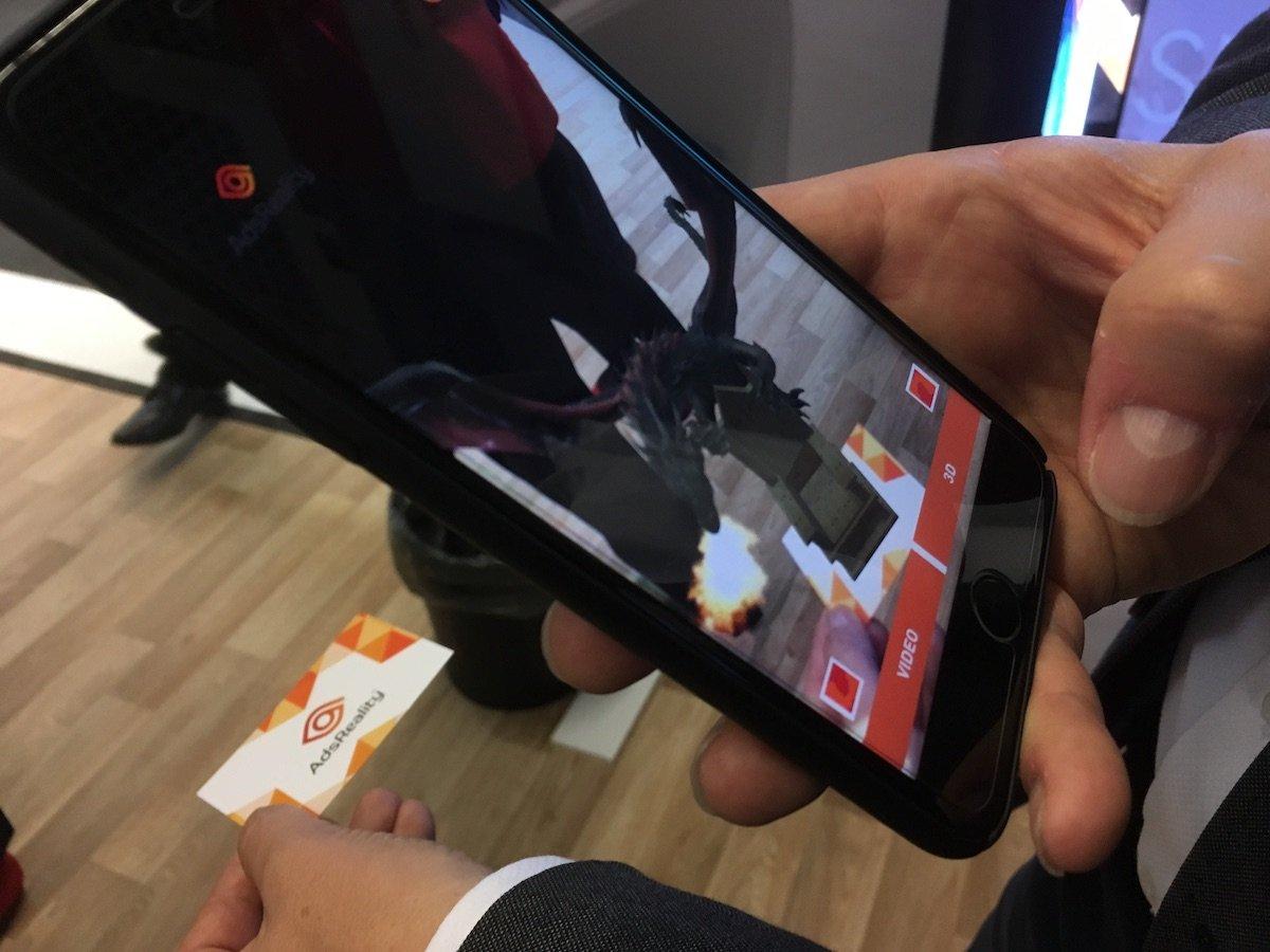 AR-Lösung von Ads Reality (Foto: invidis)