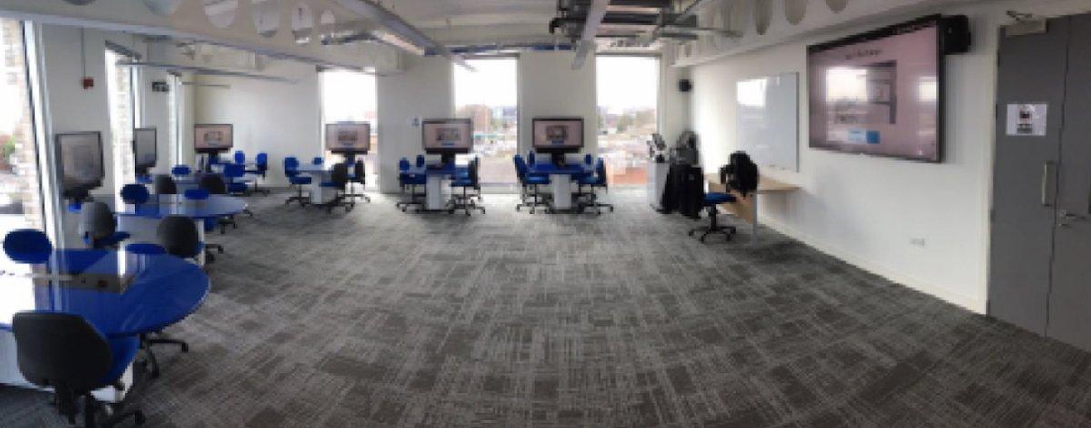 Blick in einen der neuen Räume auf dem Campus (Foto: Sony)
