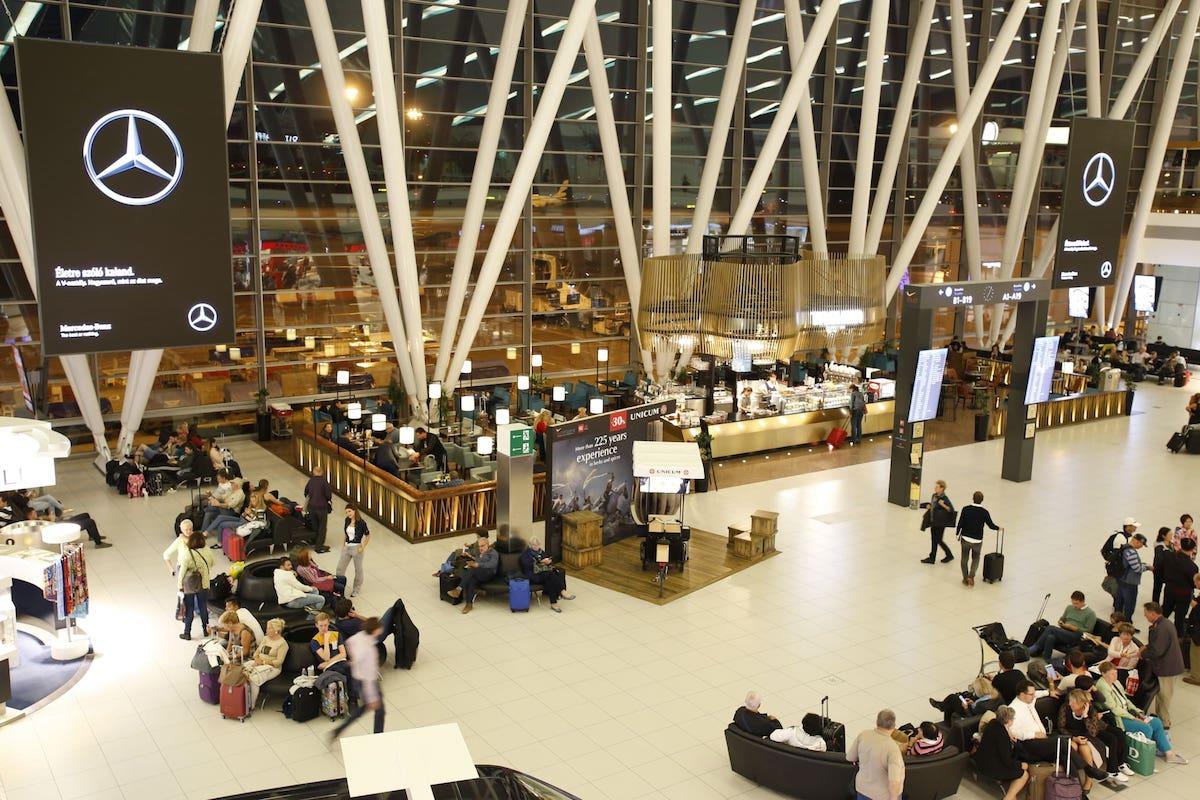 Der Skycourt in Budapest nach der Installation (Foto: IAAC)